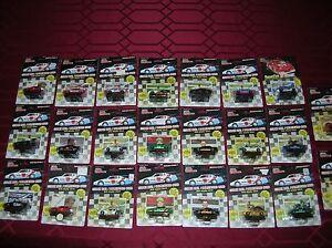 23 Diecast NASCAR Series1 Rubber tire Earnhardt Petty Bonnett Elliott Wallace AJ