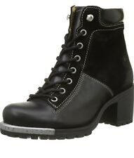 FLY LONDON Leal689fly Women's Leather & Suede Black  Boots Size UK 4 BNIB!!