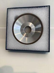 125x5/3x32 CBN BORAZON Dish Wheel B12A2 Saw Face Grinding Hard Steel Cutter 4939
