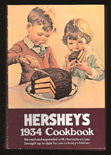 HERSHEY'S 1934 COOKBOOK-CHOCOLATE RECIPES FOR CAKES-PIES-COOKIES-CANDIES-BREADS+
