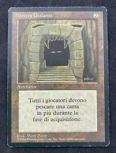 MTG Magic The Gathering ITALIAN Howling Mine Revised Edition FBB MP