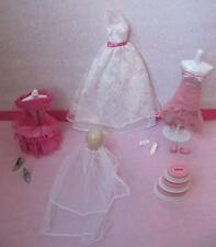 Barbie Fairytale Wedding Party I Can Be a Bride~BRIDESMAID DRESSES GOWN CLOTHING