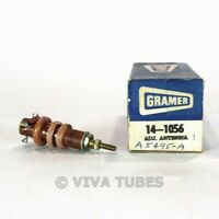 NOS NIB Vintage Gramer 14-1056 Adjustable Antenna Coil Transformer IF RF