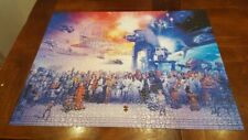 Ravensburger 2000 Piece Star Wars Universe Jigsaw Puzzle 2 Missing Pieces Disney