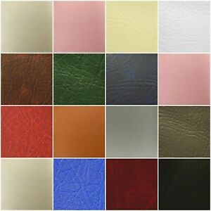 Leatherette Vinyl Upholstery Fabric Fire Retardant FR Faux Leather 140cm Wide