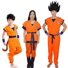 Original De Dragon Ball Z Goku Cosplay Disfraz Traje Completo uniformes de tamaño personalizado