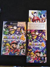 Mario Party 4 (Nintendo GameCube, 2002) with case & manual