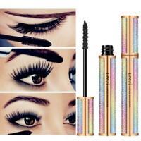 Leezi 4D Eyelash Mascara Extension Makeup Black Waterproof Kit Lashes Eye M9N4