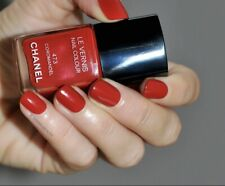 New Authentic CHANEL LE VERNIS NAIL POLISH 473 COROMANDEL Shimmer Red Summer