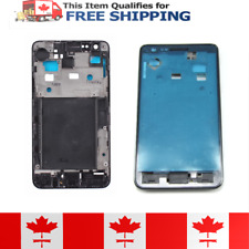 Samsung Galaxy S2 i9100 Black Faceplate Front Bezel Midplate Frame Housing