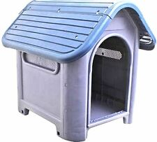 New Outdoor Dog House Small to Medium Pet All Weather Doghouse Puppy Shelter NIB