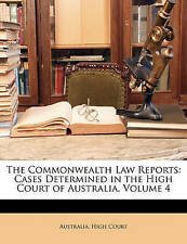 The Commonwealth Law Reports: Cases Determined in the High Court of Australia, V