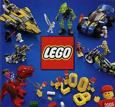 Prospekt Katalog Lego 2008 Spielzeugkatalog Spielzeug Broschüre brochure catalog