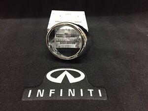 Infiniti G37 Sedan NO Tech Pkg Fog Lamp Chrome Trim Ring ONLY Left 622571MS2D