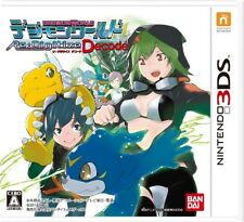 USED Nintendo 3DS Digimon World Re:Digitize Decode Free Shipping Japan Import