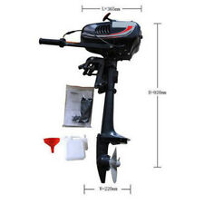 2 Stroke 3.5HP Heavy Duty Outboard Motor Boat Engine w/ Water Cooling System