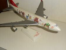 Northwest Airlines 50 Years Bridging the Pacific Anniversary 747 model VGC L@@K!