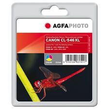 APCCL546CXL-CL-546XL CARTUCCIA RIGENERATA AGFAPHOTO PER CANON PIXMA MG2450 MG255