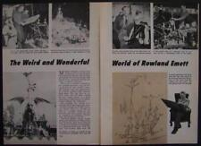 Rowland Emett Cartoonist/Sculptor/Inventor Pictorial Chitty Chitty Bang Bang