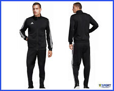 Tuta ADIDAS da Uomo Completo Zip Intera Pantalone Giacca Sportiva Ginnastica