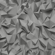 P&S Geometric Vinyl Coated Wallpaper Rolls & Sheets