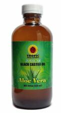 Tropic Isle Living Jamaican Black Castor Oil with Aloe Vera, 4 oz