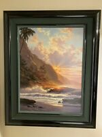 "Roy Tabora ""Behold The Summer Sun"" Giclee On Canvas.Size 27""x36"". 197/250 Signed"