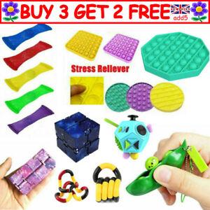 Fun Sensory Toys - Fidget Stress Sensory Autism ADHD Special Needs SENS Gift YYK