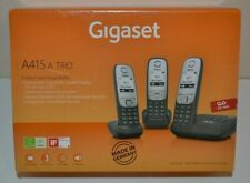 Gigaset A415 a Trio DECT Cordless Home Phone Set & Answer Machine - New & Boxed