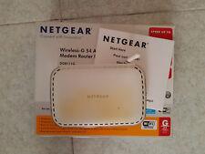 Router wireless ADSL/ADSL2+ Netgear DG834G v5