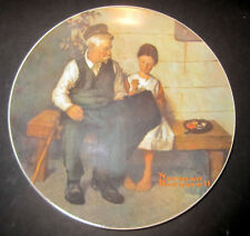 1979 Knowles Norman Rockwell Lighthouse Keepers Daughter Limited Collector Plate
