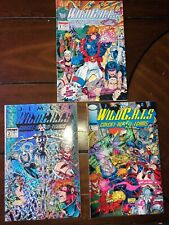 Lot of 3 - WILDCATS Covert Action Teams - #1-3