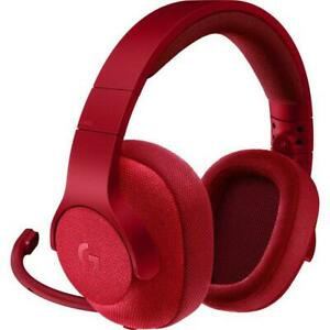 Logitech G433 7.1 Wired Gaming Headset with DTS Headphone: X 7.1 Triple Red