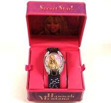 Disney Hannah Montana Armbanduhr, Quarz Stoff Band