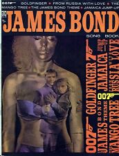 JAMES BOND 007 SONG BOOK MUSIC FROM DR. NO, FROM RUSSIA WITH LOVE, GOLDFINGER