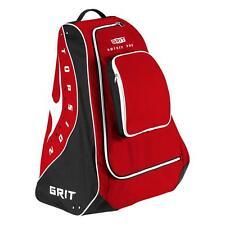 "New Grit HP01 hockey pod bag 30"" junior red black equipment backpack stand jr"