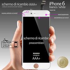 """BLANCO PANTALLA TÁCTIL VIDRIO pantalla + PANTALLA LCD MONTADO PARA iPhone 6 4,7"""""""