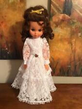 "Beautiful Vintage Doll ~ 19"" Tall ~ All Plastic ~ All Original Clothes ~ Pretty!"