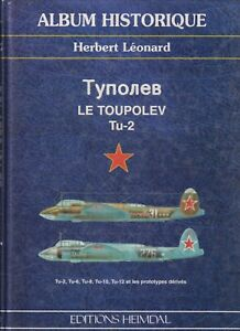 AVIATION RUSSE   - LE TUPLOEV TU-2  prototypes derives