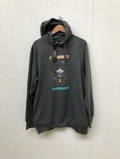 Saints Vs Dolphins Men's NFL Event Hoodie - 2XL - Charcoal - New
