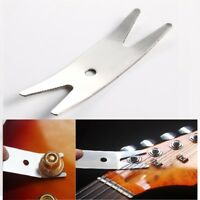 Electric Guitar Bass Multi-tool Spanner Wrench Knob Jack Tuner Bushing Stainless