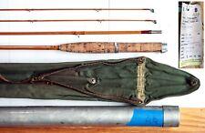 Hardy Palakona, Marvel 3-piece, bamboo, 7.5' fly fishing rod -- circa 1959