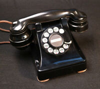 1938 Western Electric 302 Phone WE metal vintage excellent telephone E1 1937