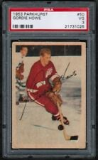 "1953 54 Parkhurst #50 Gordie Howe ""Mr. Hockey"" PSA 3 Detroit Red Wings bv 800$"