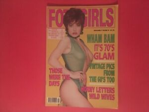 Vintage men's  magazine fotogirls galaxy publications volume 7 issue 9