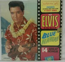 "Elvis Presley Stereo 33 rpm LP ""BLUE HAWAII"" New Orthophonic Hi Fidelity RCA"