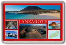 FRIDGE MAGNET - LANZAROTE - Large - Spain TOURIST