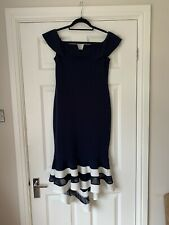 Quiz Navy New With Tags Dress Size 14 Evening Wedding Christening Party