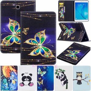 """For Samsung Galaxy Tab A 8"""" 9.7"""" 10.1"""" Tab E S2 S3 Flip Stand Leather Case Cover"""