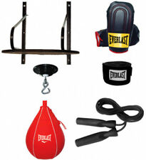 Speed Bag Kit 24 Smoothly Finished Wooden Drum Durable Vinyl Swivel 6-Piece